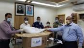 Salma-Adil Foundation Distributes PPE in Chandanaish