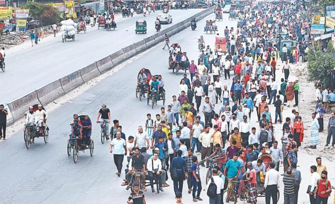 Don't leave or enter Dhaka until further notice: Police HQ