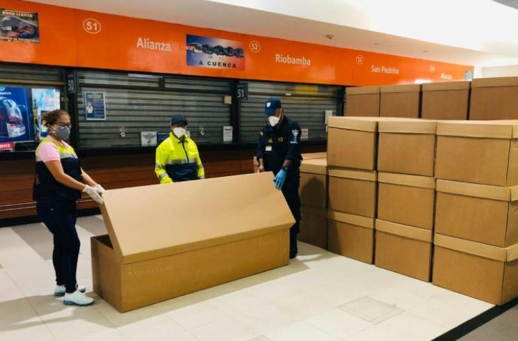 Ecuador city runs out of coffins amid COVID-19 crisis