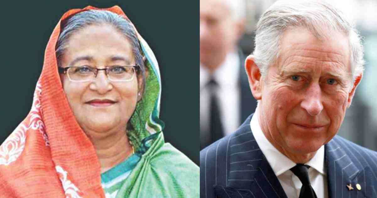 Prince Charles now much better, thanks Hasina for letter
