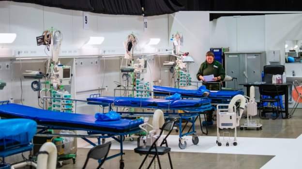 Sweden opens new field hospital