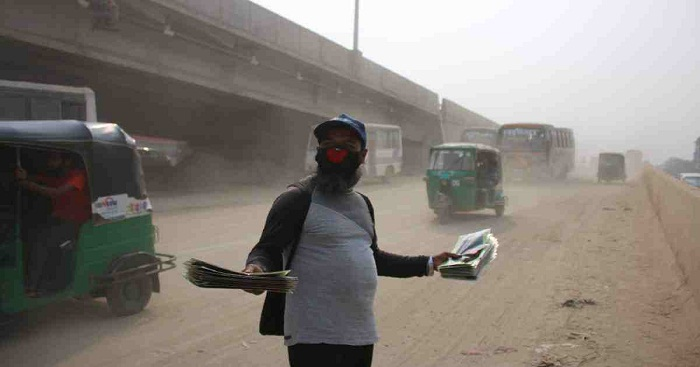 Dhaka ranks 2nd worst in Air Quality Index