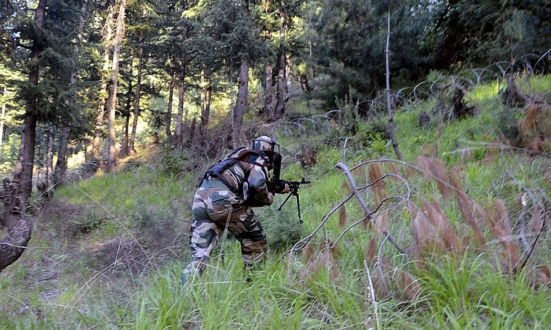 Pakistan violates ceasefire along LoC in J-K's Poonch