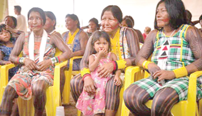 Corona 'could wipe out Brazil's indigenous people'