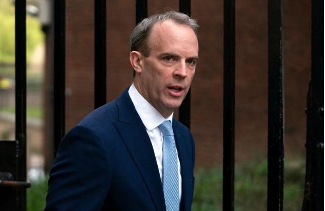 Dominic Raab in charge of UK's nuclear weapons while PM in hospital