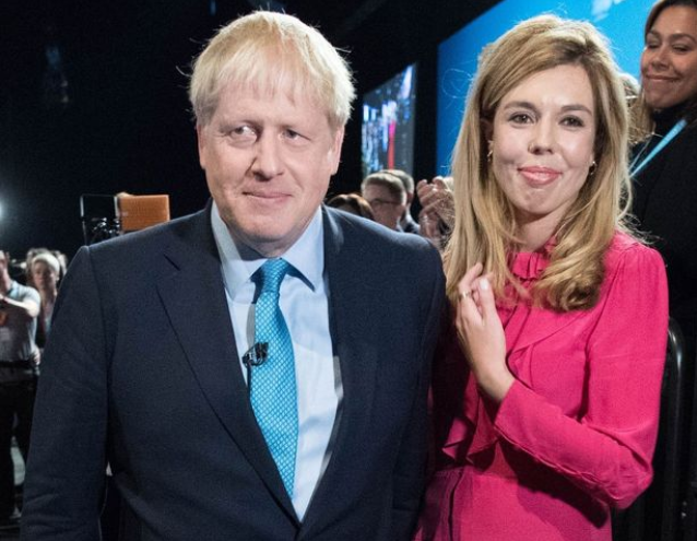 Agony as Boris Johnson's pregnant fiancée Carrie Symonds unable to be at his side