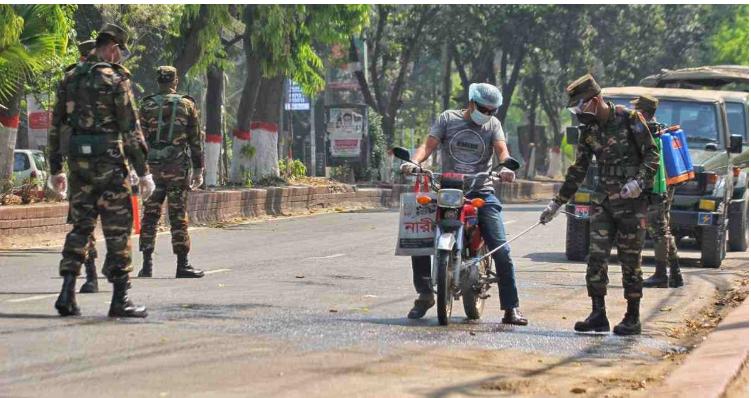 Bangladesh's law enforcers on the frontline of corona battle