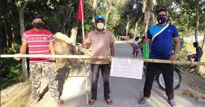 Coronavirus: Jashore youths bring two villages under lockdown