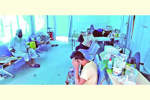 Youth dies in coronavirus isolation at DMCH