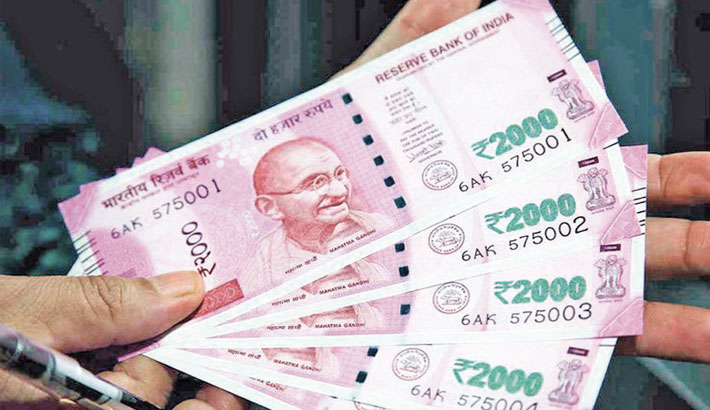 Rupee spurts 49 paise to 75.64 against dollar
