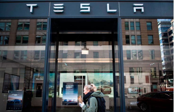 Tesla furloughs staff and slashes salaries until June