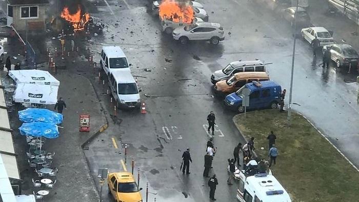 Five civilians die in Turkey bomb attack