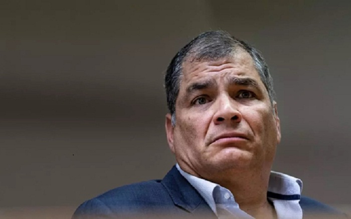 Ecuador ex-president sentenced to eight years for corruption