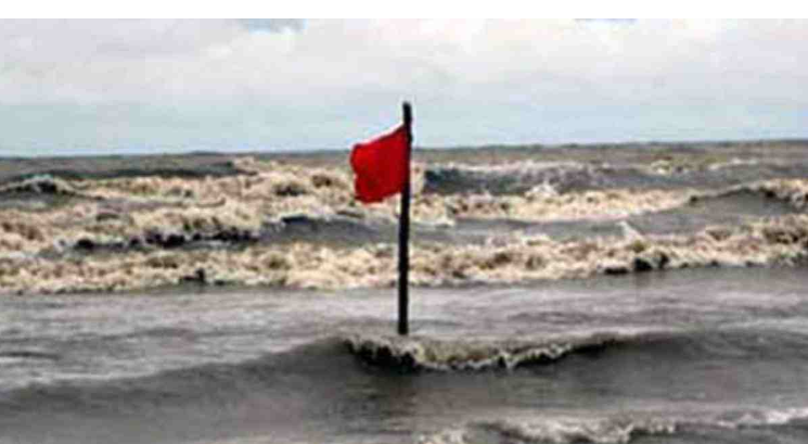 River ports asked to hoist warning signal 1