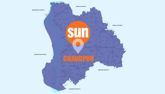 Lockdown imposed in Chandpur