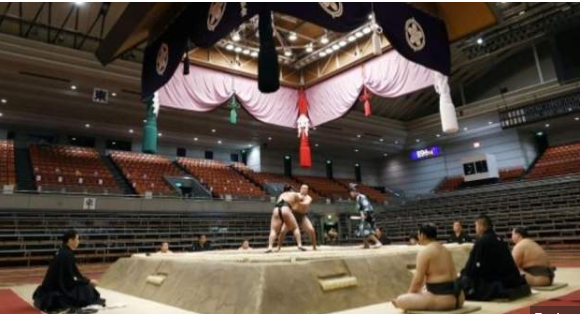 First sumo wrestler tests positive in Japan