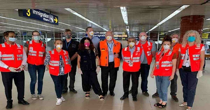123 Europeans citizens leave Dhaka for home