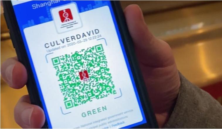 China fighting coronavirus with a digital QR code