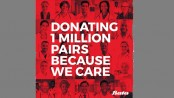 Bata donates 1 million pairs of shoes to health care workers,volunteers and their families