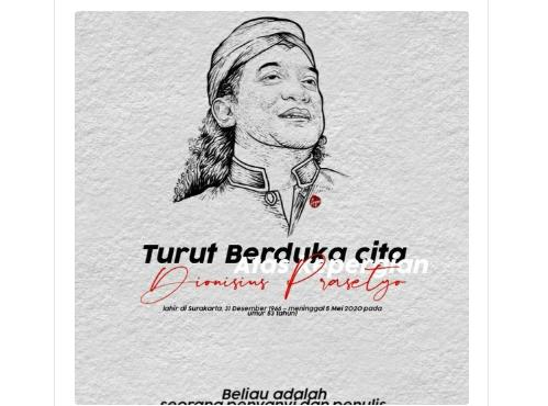 Indonesian folk legend Kempot dies of Covid-19