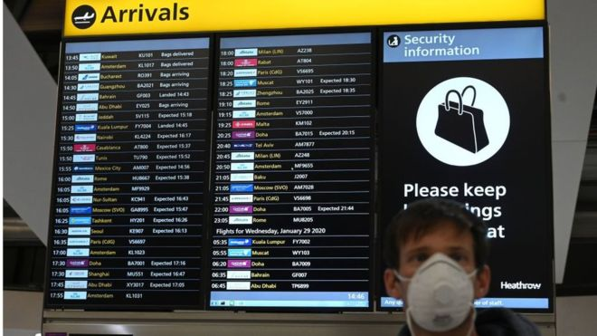 UK 'to bring in 14-day quarantine for air passengers'