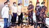 Bashundhara Group provides 25,000 masks, 1,000 PPE for BGB