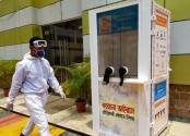 PRAN-RFL donates 5 booths to collect corona sample