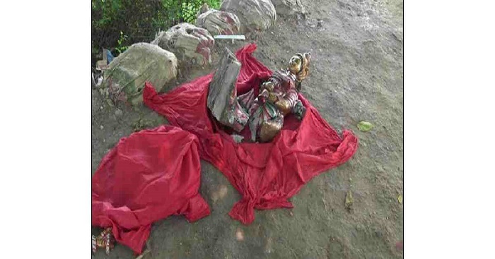 Hindu idol vandalised at Rangamati temple