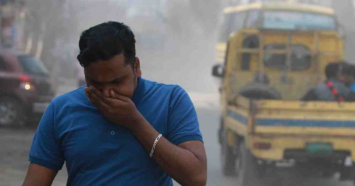 Dhaka's air ranked worst in the world