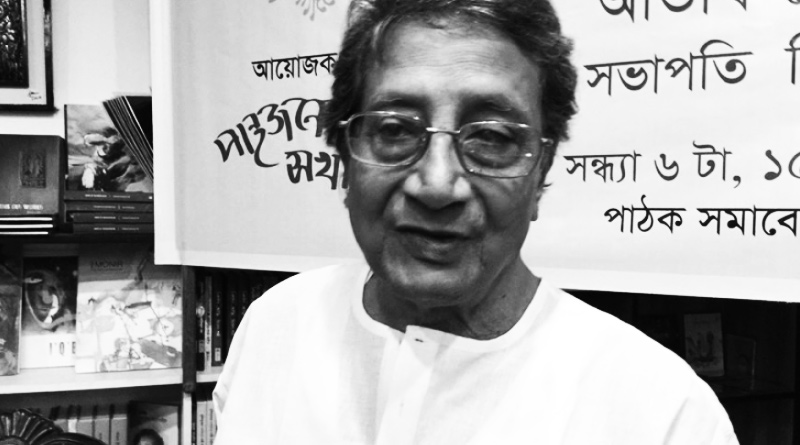 Prominent Indian writer Debesh Roy passed away