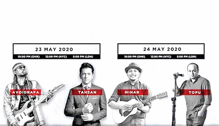 'Music against Hunger' to raise funds for needy people