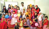 Shwapnil Shojib's noble initiative for underprivileged children