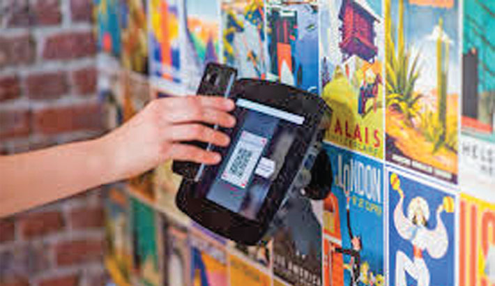 E-commerce transaction thru QR Code Usage during corona pandemic
