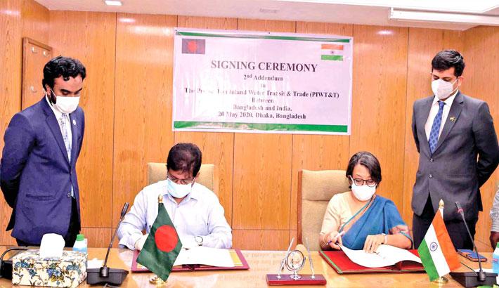 Bangladesh, India extend inland water transit