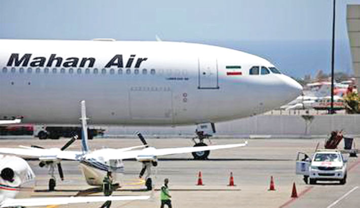 US blacklists Chinese logistics firm over business with Iran airline