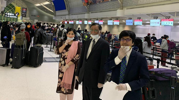 195 stranded Bangladeshis return from Canada