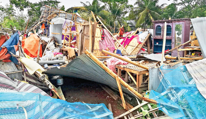 Cyclone Amphan leaves a trail of destruction