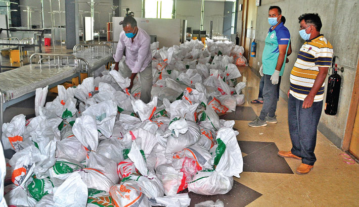 Bashundhara Group Chairman provides Eid gifts for 10,500 poor families