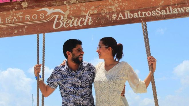 Couple trapped on never-ending honeymoon