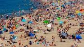 Beach chaos threatens Europe as temperatures rise