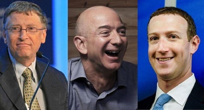 World's 25 richest billionaires gain nearly $255 billion in just two months