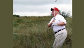 Trump golfs at his Virginia club amid the coronavirus pandemic