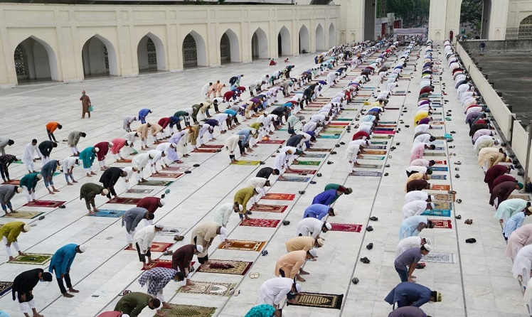 Muslims in Bangladesh celebrate Eid-ul-Fitr
