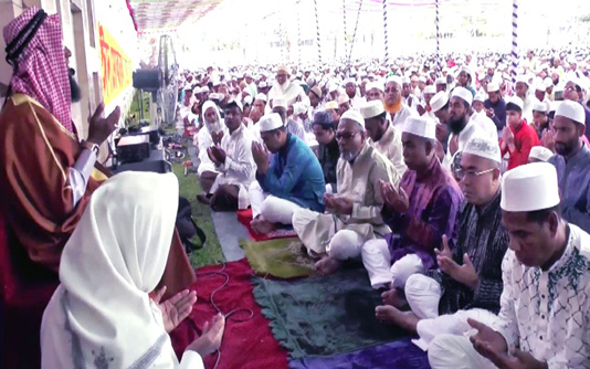 Eid-ul-Fitr being celebrated in Rangpur