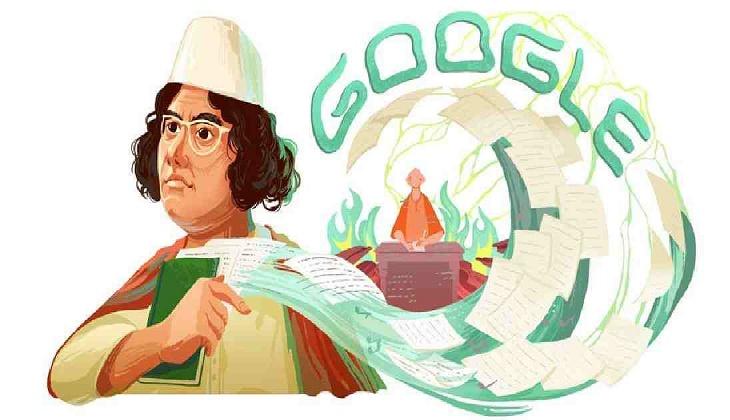 Google Doodle celebrates Nazrul's 121st birthday
