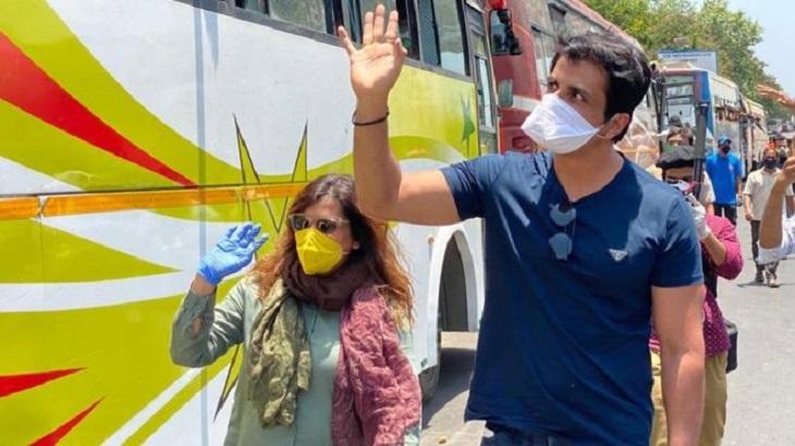 India coronavirus: Bollywood actor Sonu Sood hailed for helping migrants
