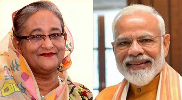 Narendra Modi phones PM Sheikh Hasina to greet her on Eid