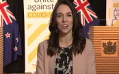 New Zealand PM interrupted by earthquake in TV interview