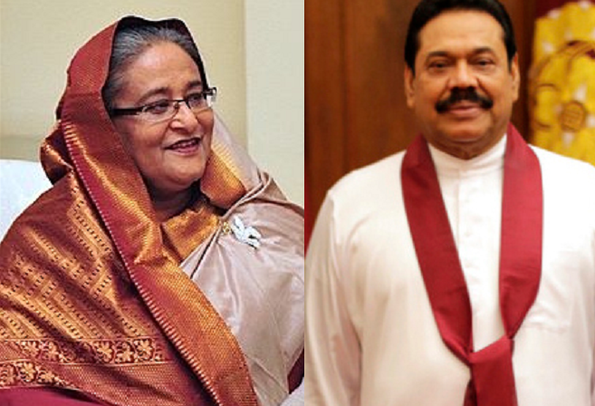 Hasina greets Sri Lankan PM marking completion of 50 yrs of his political career