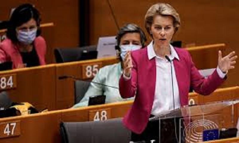 Coronavirus: Von der Leyen calls €750bn recovery fund 'Europe's moment'